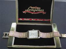 830 Longines FourteenKarat Yellow Gold Wristwatch