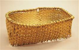 890 Louisiana Woven Splint Cotton Harvesting Basket