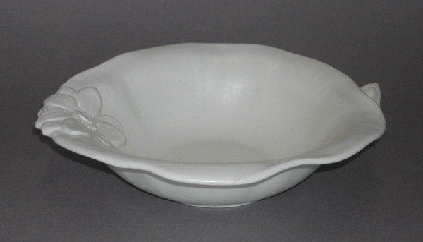 891: Rookwood Pottery Floriform Console Bowl