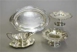 """915: Gorham Sterling Silver """"Plymouth"""" Serving Pieces"""