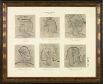 503: Pair of German Folio Plates,