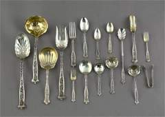 941: Whiting Manufacturing Comp Sterling Flatware Servi