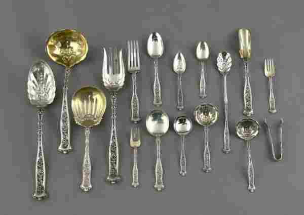 Whiting Manufacturing Comp Sterling Flatware Servi
