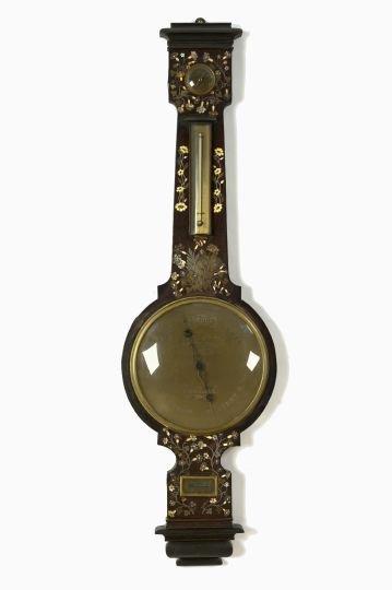 3: G. Tagliabue, NY, Papier-Mache and Wood Clock