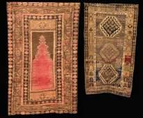285: Three Antique Rugs,