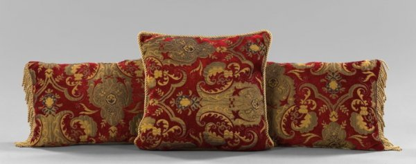 15: Group of Three French Pillows,