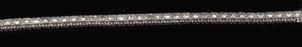 822: Gold and Diamond Bracelet