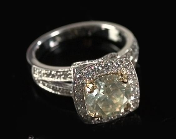 824: Gold and Diamond Unity Ring