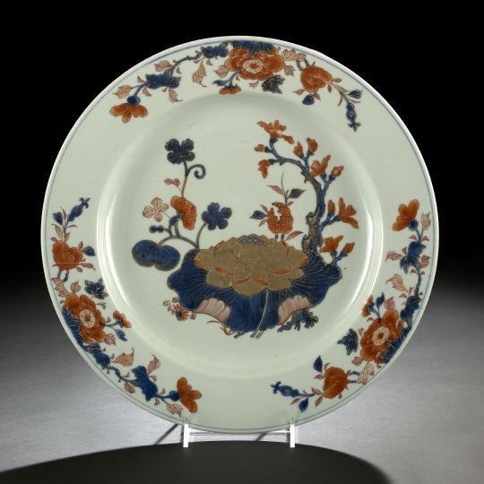 10: Good Chinese Export Imari Porcelain Charger,