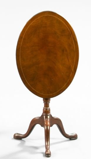 22: Edwardian Mahogany Tripod Table,