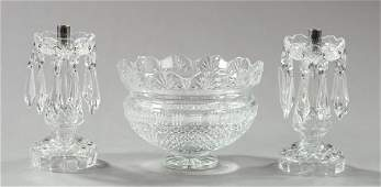 97 ThreePiece Group of Waterford Crystal