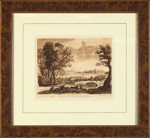 766: After Claude Lorrain (French, 1600-1682)