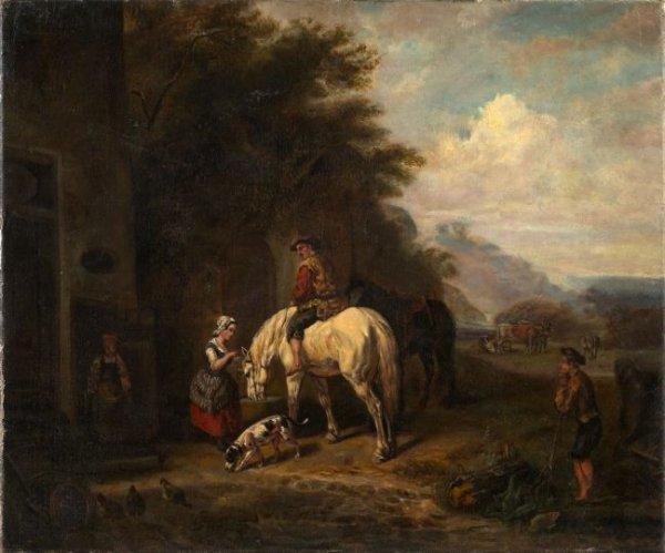 22: Manner of Barent Gael (Dutch, 1630-1698)