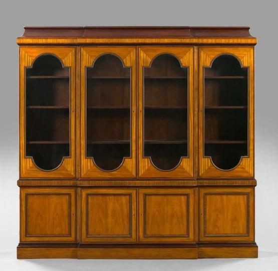 24: Baker Furniture Company Mahogany Breakfront