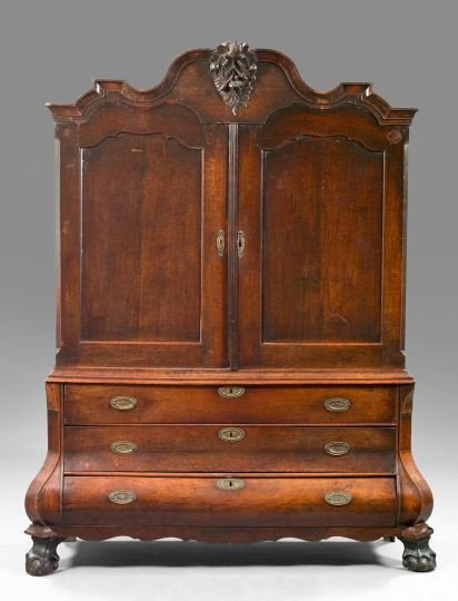 1: Dutch Oak Linen Press,