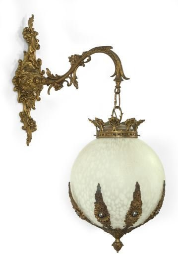 20: Continental Cast-Iron and Brass Pendant Appliques
