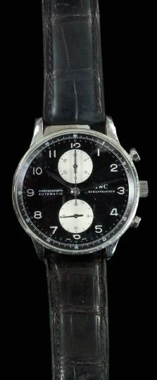 959: Large Stainless Steel Gentleman's Wristwatch,