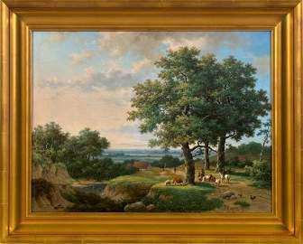 1304: Marinus Adrianus Kockkoek (Dutch, 1807-1870)