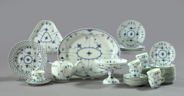 14A: Royal Copenhagen Porcelain Dinner Service