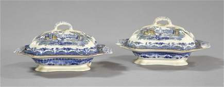134: Ashworth Brothers, Staffordshire Pottery Dishes
