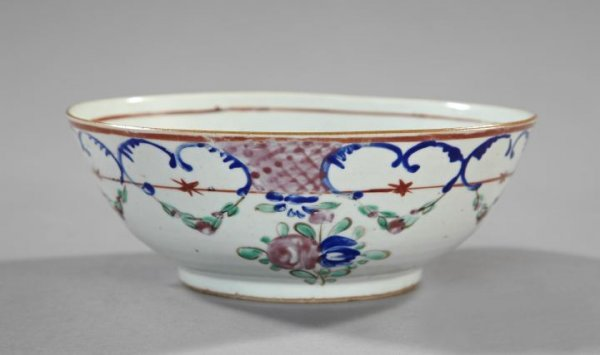 24: Chinese Export Porcelain Fruit Bowl,