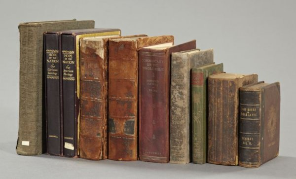 Approximate Ten-Volume Book Collection,