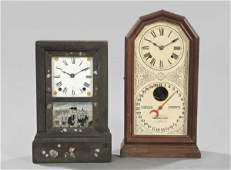 Group of Two Mantel Clocks,