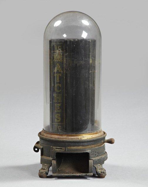 970: Rare Diamond Match Company Match Dispenser,