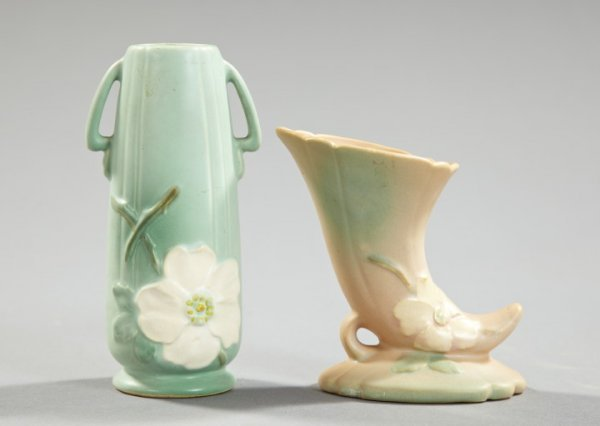 1432: Two-Piece Group of Vintage Weller Pottery,