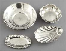 78 Collection of Four Sterling Silver Bowls and Trays