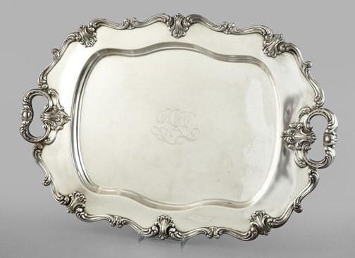 79: Frank M. Whiting Sterling Silver Platter