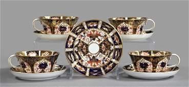 355: Nine-Piece Group of Royal Crown Derby Porcelain