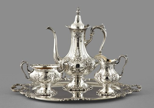 921: Reed and Barton Sterling Silver Coffee Service