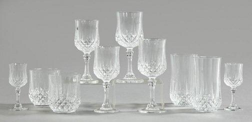 Cristal Darques France.1114 Cristal D Arques France Glassware Service