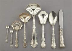 1252 Group of Gorham Sterling Silver Serving Pieces