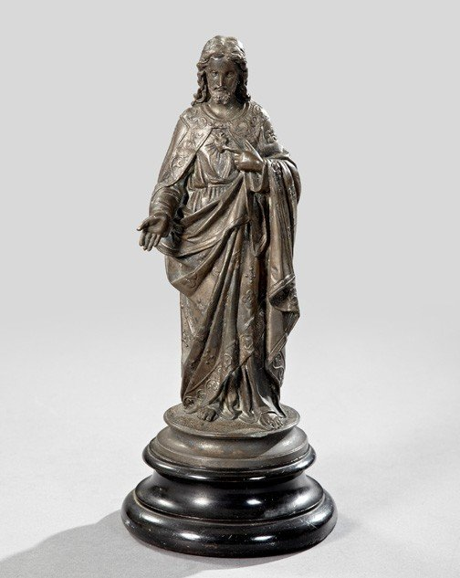 854: Continental Cast-Iron Figure