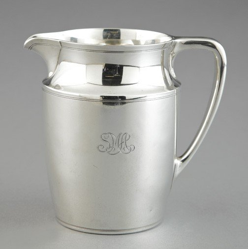 1298: Good Tiffany and Company Sterling Silver Pitcher