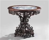 1513: Kuang Hsu Rosewood Miniature Center Table