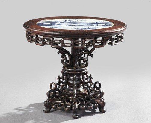 1513: Kuang Hsu Rosewood Miniature Center Table