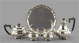 368: Four-Piece Silverplate Tea-and-Coffee Service