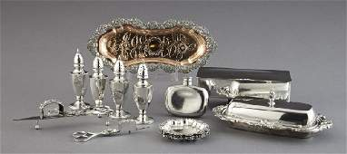 909 Sterling and Silverplate Table Articles