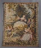 544 FrancoBelgian MachineWoven Tapestry Panel
