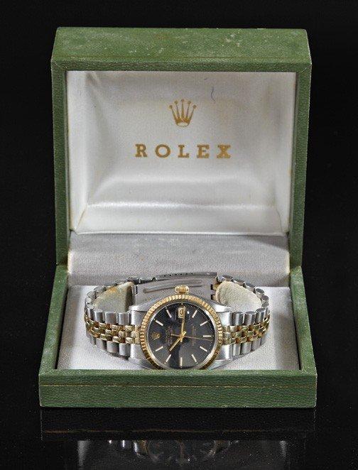 731: Rolex Perpetual Datejust Chronometer Wristwatch