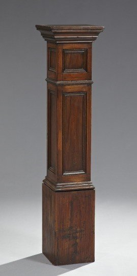10: George III-Style Stained Wood Pedestal,