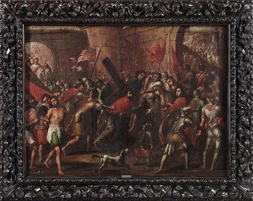 750: Studio of Frans Francken III (Flemish, 1607-1667)