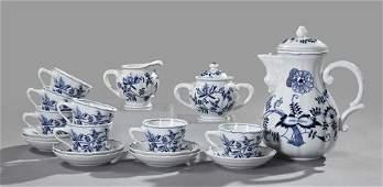 833 Blue Danube Porcelain Coffee Service
