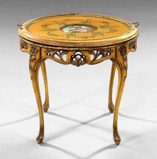 2: FRENCH TRAY TABLE