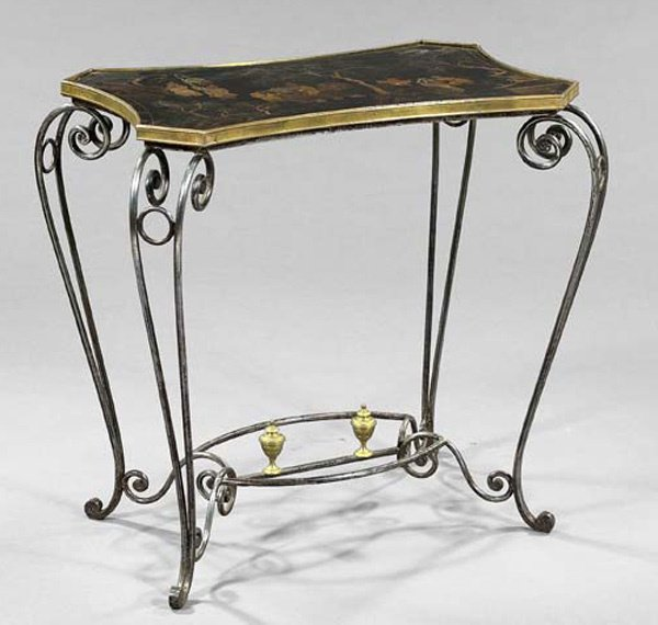 11: FRENCH IRON TABLE