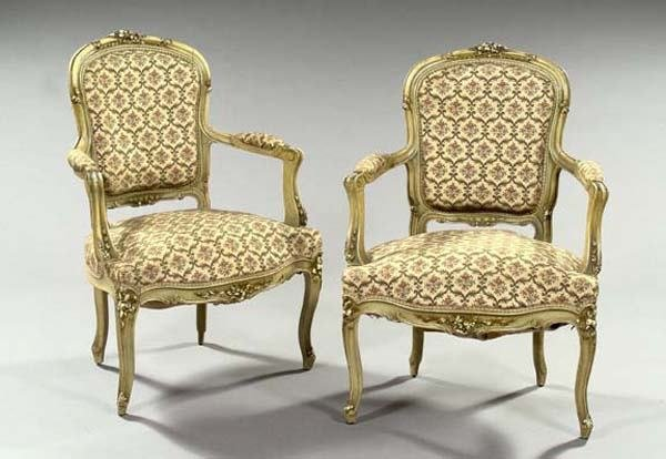13: FRENCH ARMCHAIRS