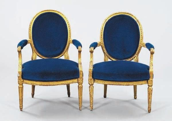 19: FRENCH GILTWOOD CHAIRS